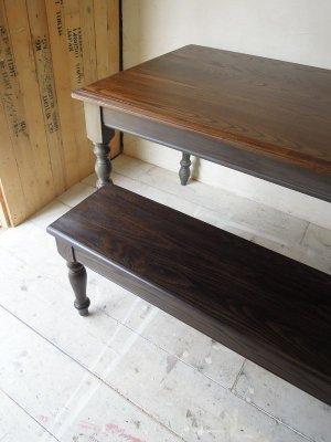 アンティーク調デザインのベンチ、サイズオーダーできます