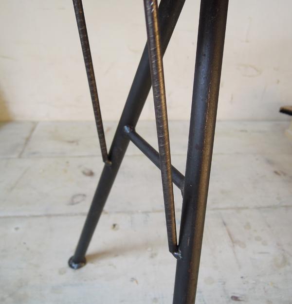 インダストリアル、鉄脚、黒皮