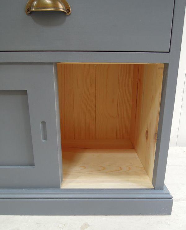 アンティーク家具,引き違い戸