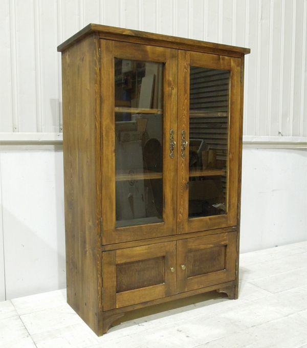 アンティーク家具,ガラスキャビネット