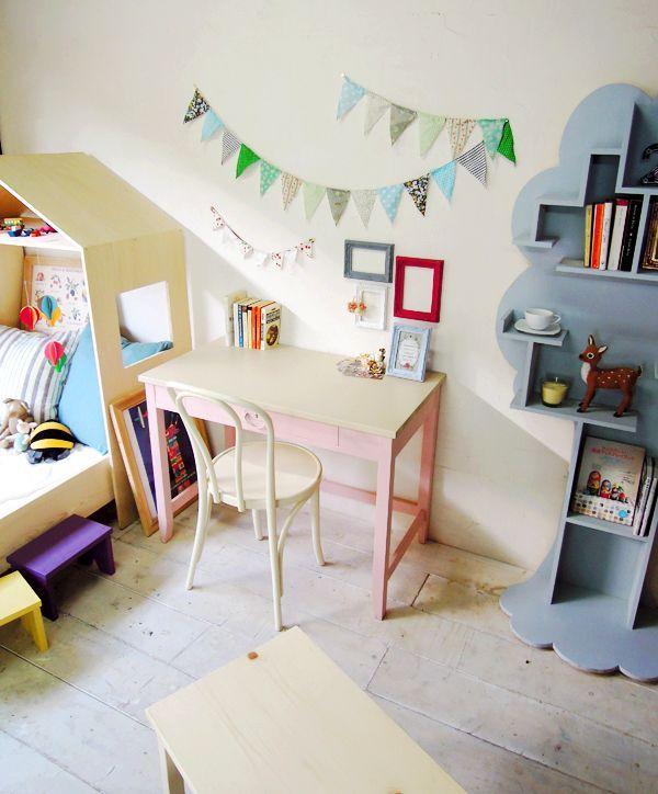 かわいい子供部屋づくりにおすすめの勉強机・学習机