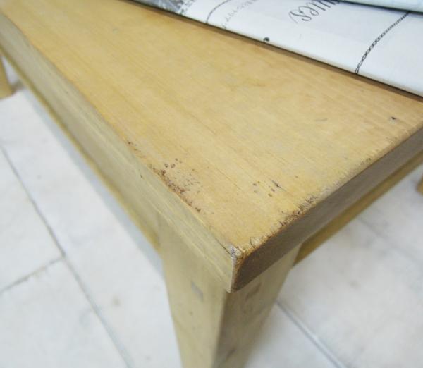 エイジング家具ローテーブル
