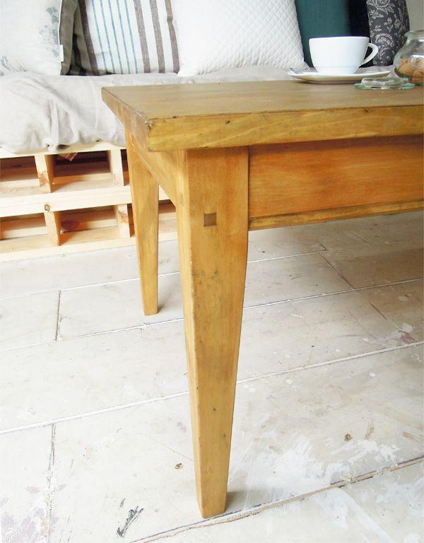 アンティーク風ローテーブルのオーダーメイド