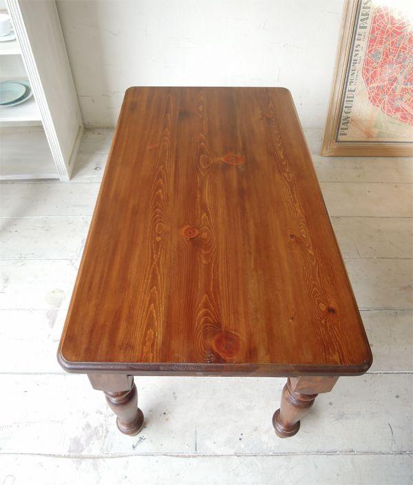 アンティークブラウン色,ローテーブル