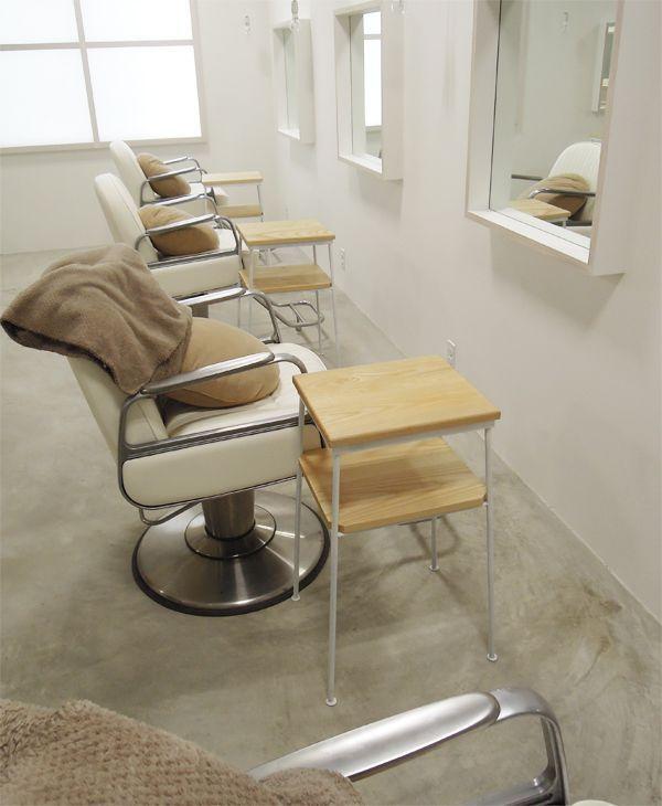 美容室サイドテーブル