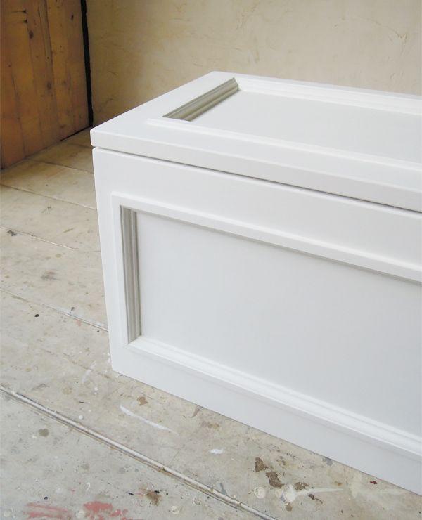 おもちゃ箱,ブランケットボックス,ホワイト