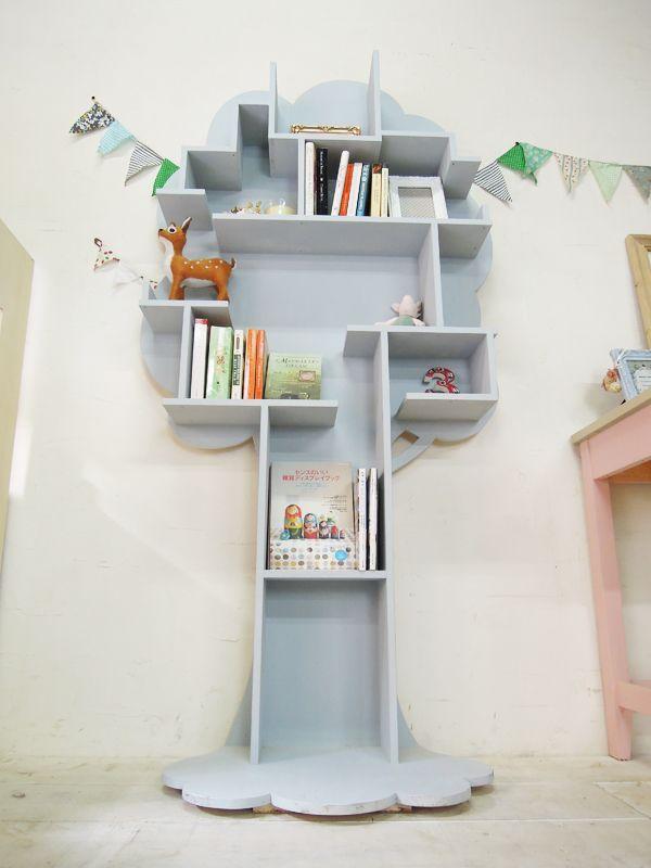 キッズシェルフ、かわいい子供用本棚