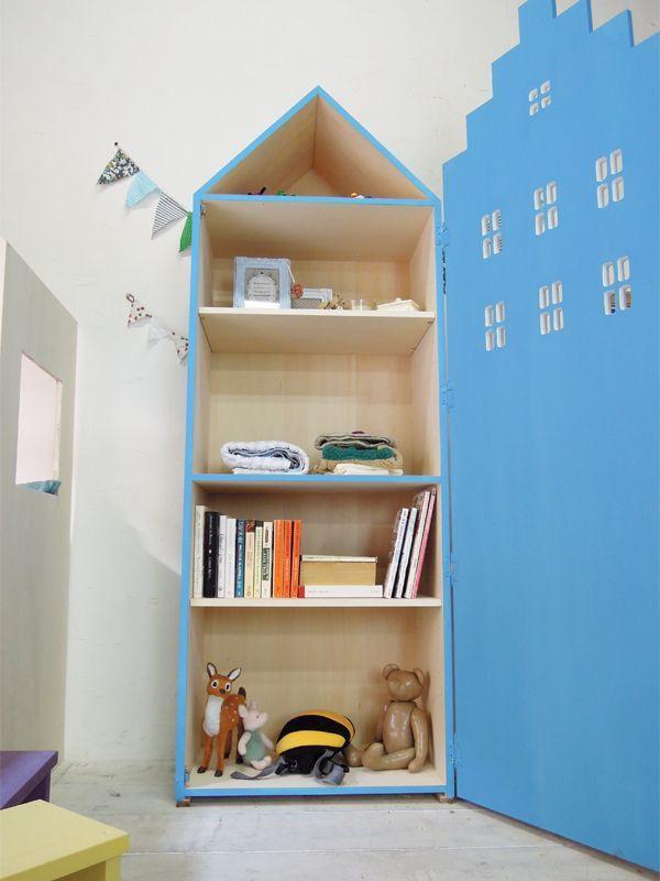かわいい子供家具、収納タンス