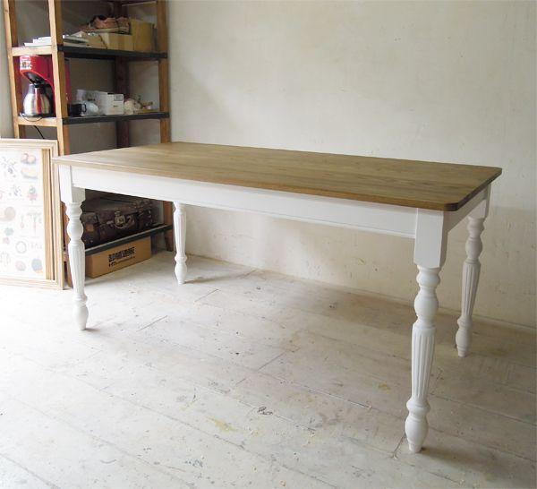 W1600ダイニングテーブル,ホワイトアッシュ