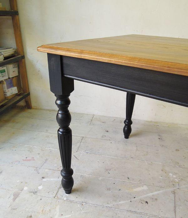 アンティーク家具,ターンドレッグテーブル,ろくろ脚