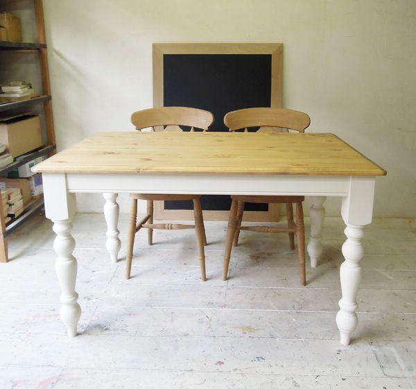 フレンチアンティーク,パインダイニングテーブル