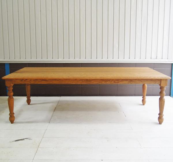 W2400×D900,大きなダイニングテーブル,オーダーメイド