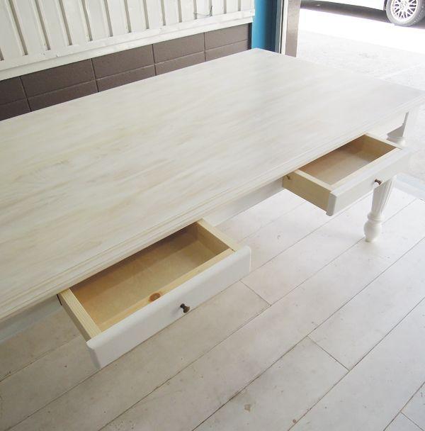 引出し付きダイニングテーブル