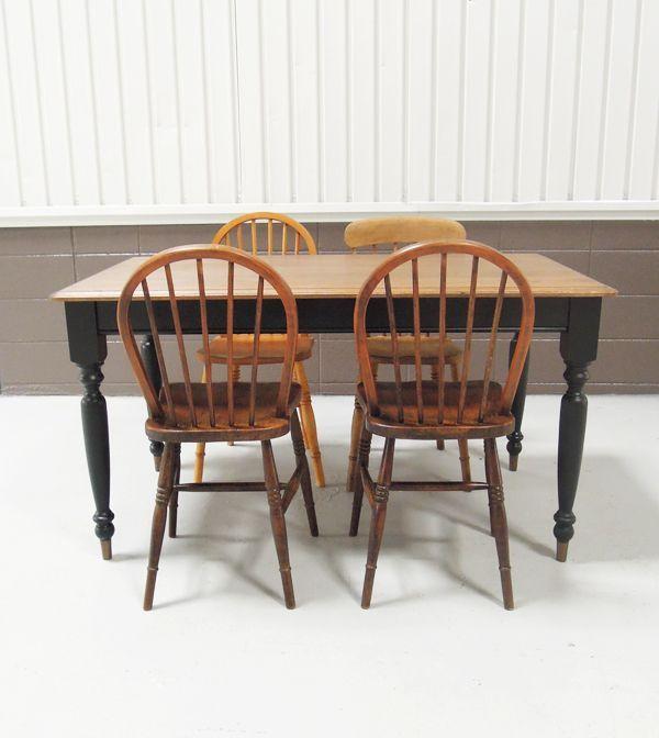 かっこいいダイニグテーブル,アンティークチェア