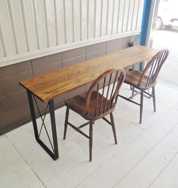 鉄脚テーブル,学習机,1800