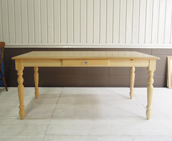 ホワイトオークダイニングテーブルW1600