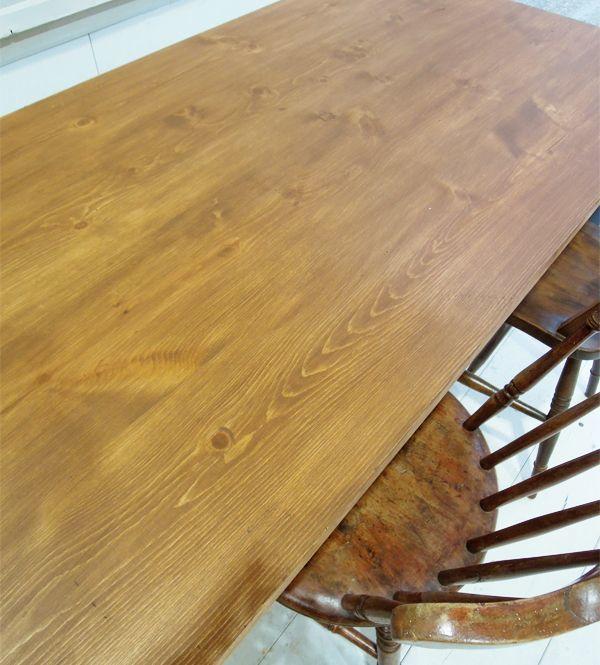 パインテーブル,アンティークブラウン色
