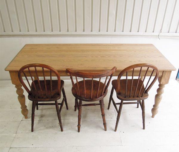 W1800,6人掛けダイニングテーブル
