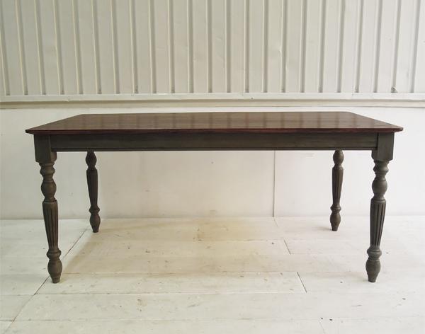 アンティーク調,ダイニングテーブル,W1600