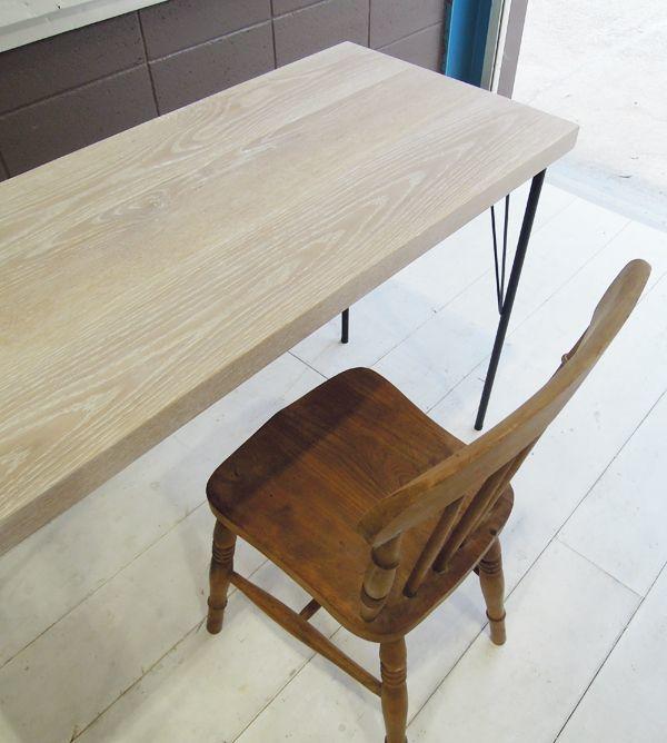 ホワイトオーク,アンティークテーブル
