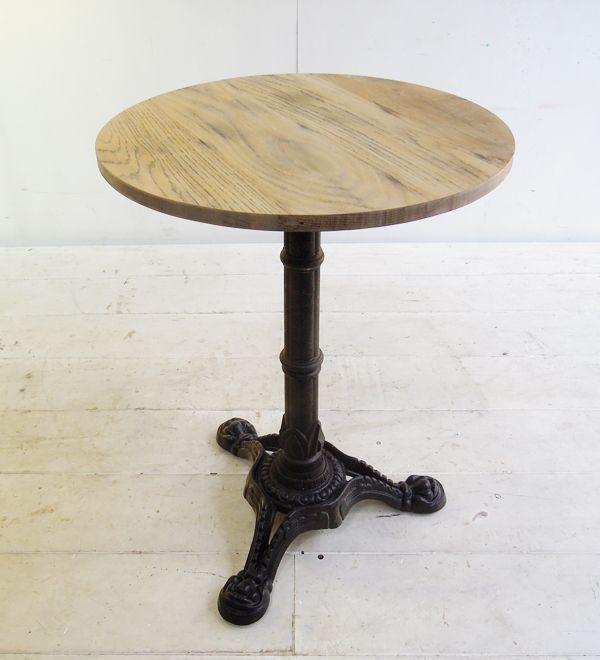 丸テーブル,鉄脚テーブル