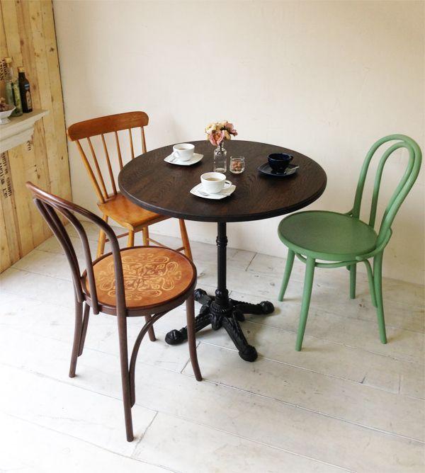 4人掛け丸テーブル、サイズオーダー大阪東京