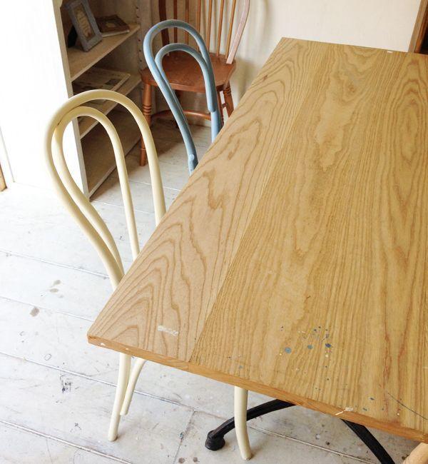 ホワイトアッシュタモ材ダイニングテーブル