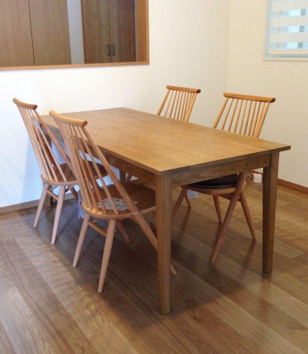 6人掛けダイニングテーブルのオーダーメイド