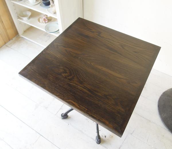 オーク天板テーブル