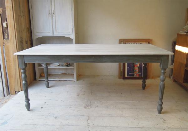 アンティーク調ダイニングテーブルW1800