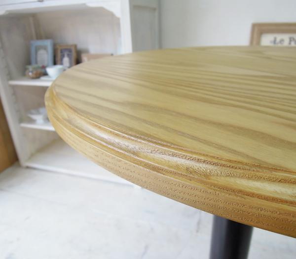 ホワイトアッシュ丸天板ラウンドテーブル