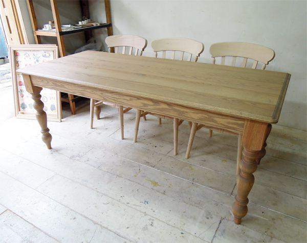 W1800オークテーブル