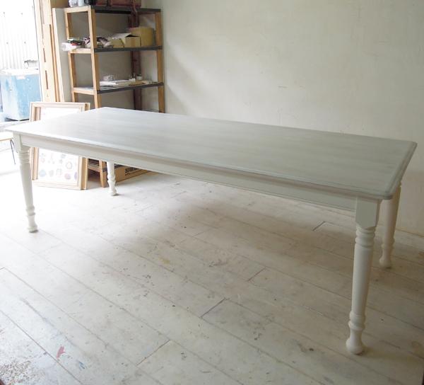 ホワイトダイニングテーブル,オーダーメイド