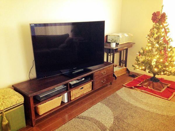 イギリスアンティーク家具,テレビボード