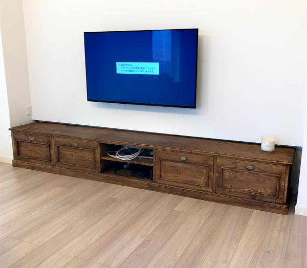 オーダーメイド,壁面収納,テレビボード