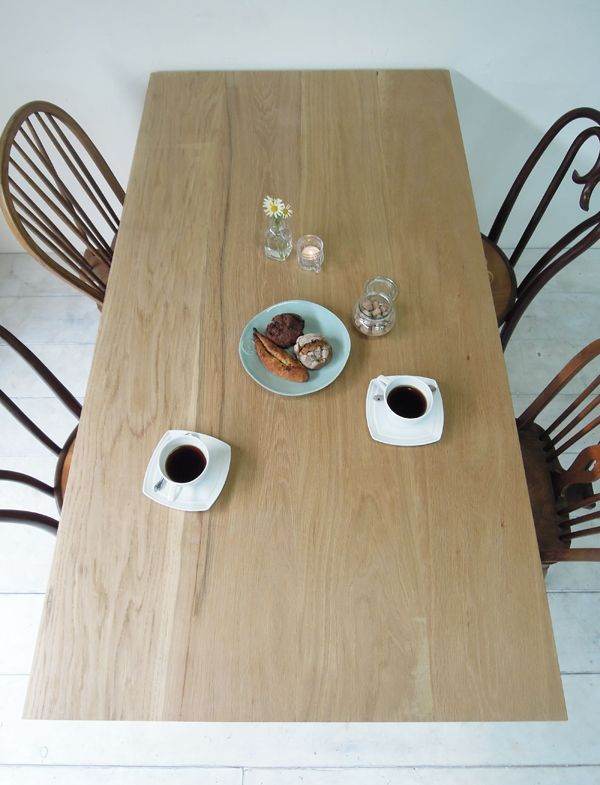アンティーク風鉄脚テーブル