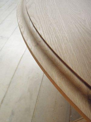 画像4: オーク・ラウンドコーヒーテーブル