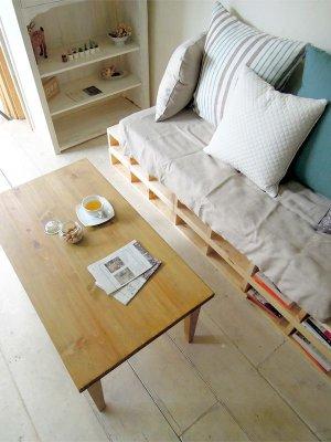画像5: パインローテーブル