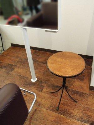 画像2: オーク丸テーブル天板