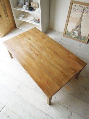 オーダーメイドで製作するパイン家具、色は9種からお選びいただけます。
