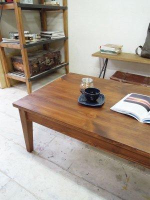 パイン無垢材でつくるローテーブル,コーヒーテーブル