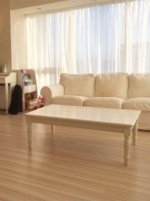 幅1200×奥行800の大きなローテーブル