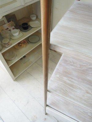 画像5: オーク×真鍮 ディスプレイシェルフ4段