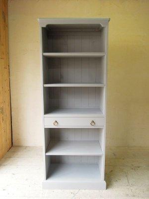 引き出し付きの本棚、オーダーメイドで作るブックシェルフです