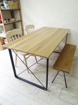 アイアンレッグダイニングテーブル