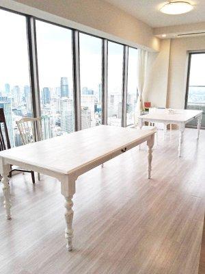 2mを超す大きなダイニングテーブルの専門店グレイスファニチャー!