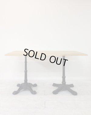 画像2: 2本鉄脚ダイニングテーブル