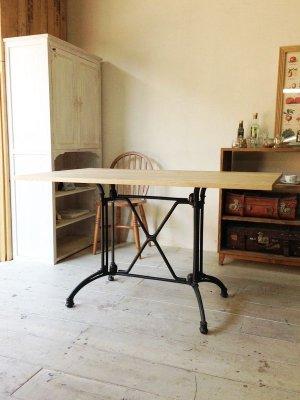 画像1: 幅広アイアンテーブル