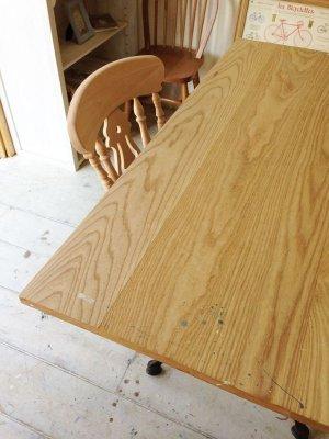 画像4: 幅広アイアンテーブル