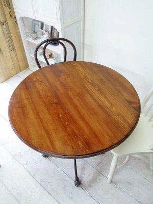 アイアンレッグラウンドテーブル(直径850)